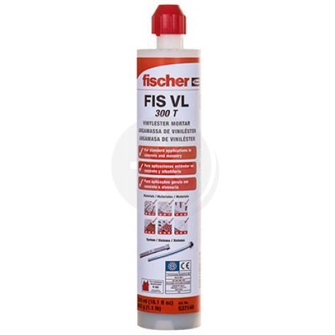 Zaprawa iniekcyjna VL 300 T - masa żywiczna, Fischer