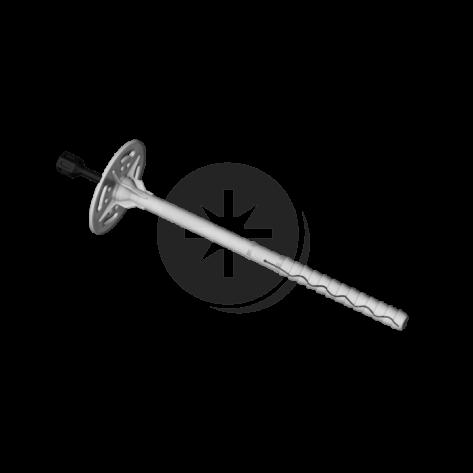Łącznik do mocowania termoizolacji z trzpieniem tworzywowym z przedłużoną strefą rozpierania