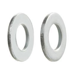 Podkładka okrągła zgrubna - ocynk biały
