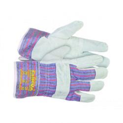 Rękawice wzmacniane skórą GULL