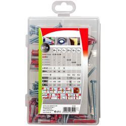 PROFI-BOX DuoPower-DuoTec zestaw kołków rozporowych 87 elementów - Fischer